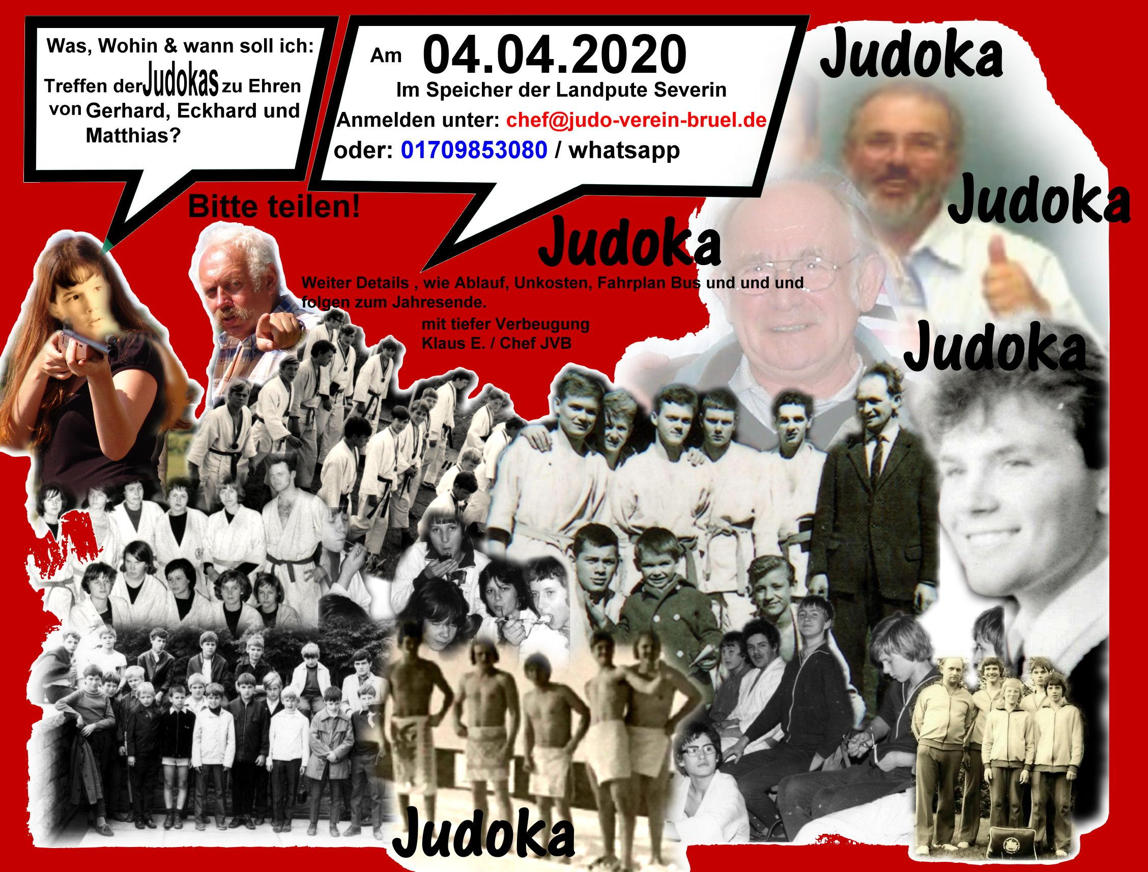 Judo Treffen 4  4 2020 Vorankündigung